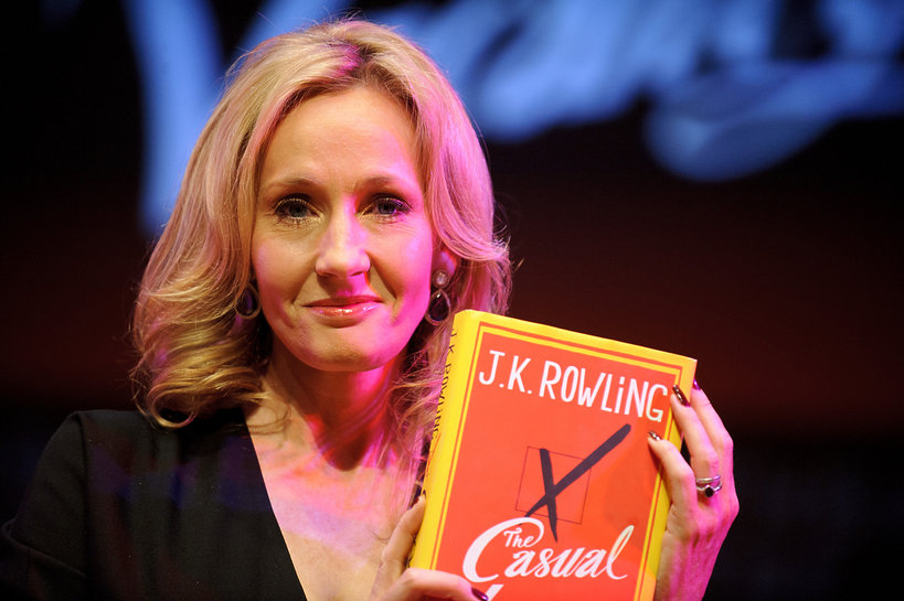Pisarki milionerki, J.K. Rowling