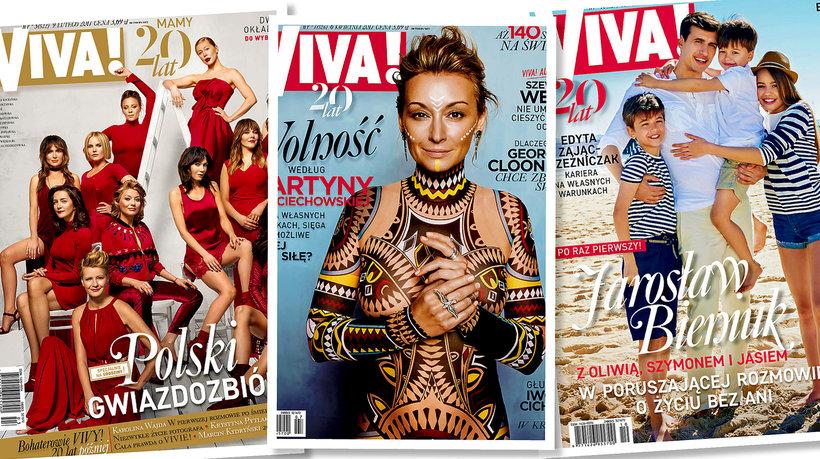 20. urodziny VIVY!, Martyna Wojciechowska, Jarosław Bieniuk z dziećmi, main topic