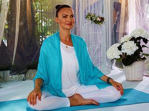 Agnieszka Maciąg, joga, jamnik