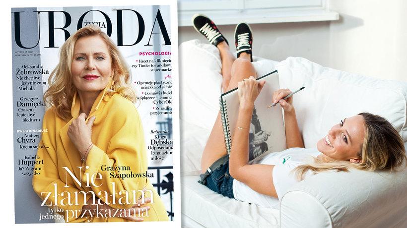 "Aleksandra Żebrowska, ""Uroda Życia'', main topic"