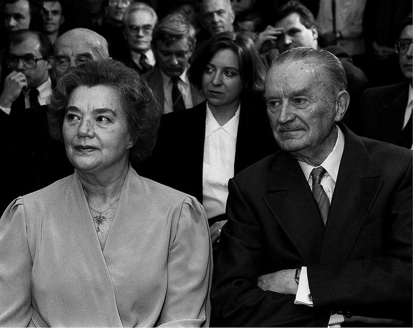 Alicja Solska-Jaroszewicz Dziennikarka, Piotr Jaroszewicz