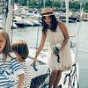 Anna Przybylska z dziećmi, Anna Przybylska, Oliwia Bieniuk, Szymon Bieniuk, Jan Bieniuk, VIVA! sierpień 2012