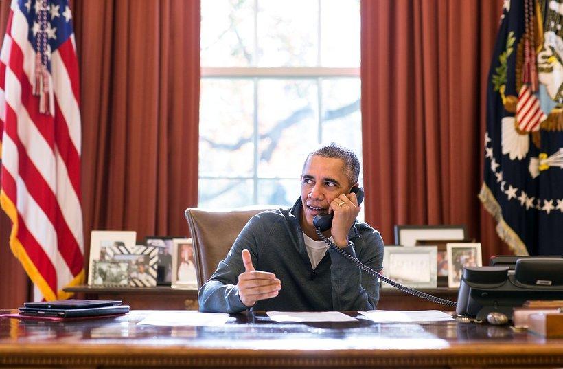 Barack Obama, Gabinet Owalny, Biały Dom, viva.pl