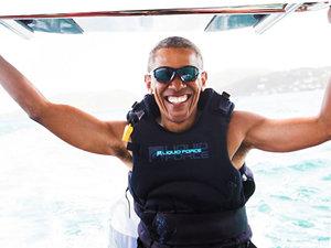 Barack Obama, wakacje