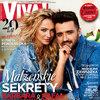 Barbara Kurdej-Szatan, Rafał Szatan, okładka, VIVA! kwiecień 2017, VIVA! 8/2017