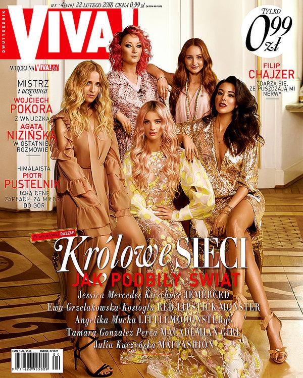 Blogerki i influencerki, okładka, VIVA! luty 2018