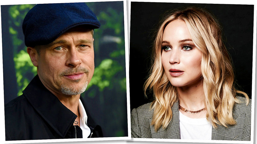 Brad Pitt, Jennifer Lawrence, main topic