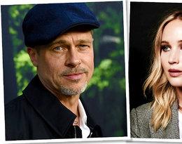 """Jennifer Lawrence i Brad Pitt mają romans? """"Stworzyliby bardzo wpływową parę!''"""