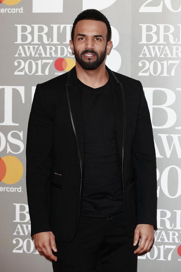 Brit Awards 2017, Craig David