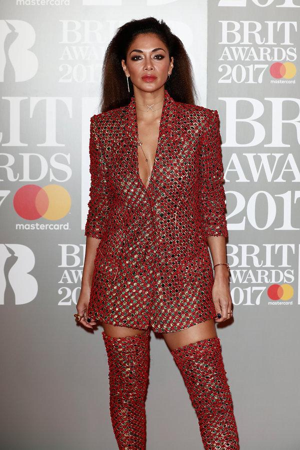 Brit Awards 2017, Nicole Scherzinger