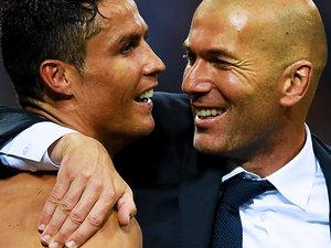 Cristiano Ronaldo, Zinedine Zidane, jamnik