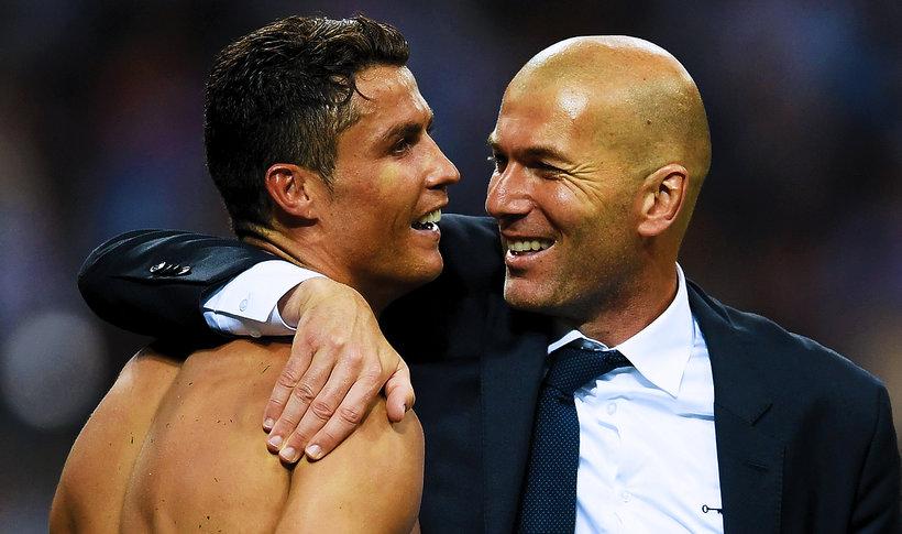 Cristiano Ronaldo, Zinedine Zidane, main topic