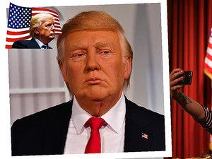 Donald Trump, fgura woskowa, viva.pl