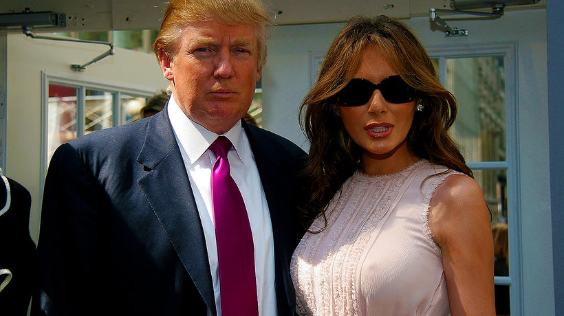 Donald Trump, Melania Trump, main topic