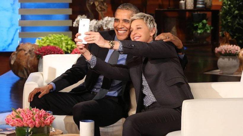 Ellen DeGeneres, Barack Obama
