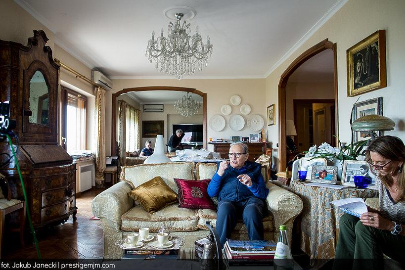 Ennio Morricone, mieszkania gwiazd