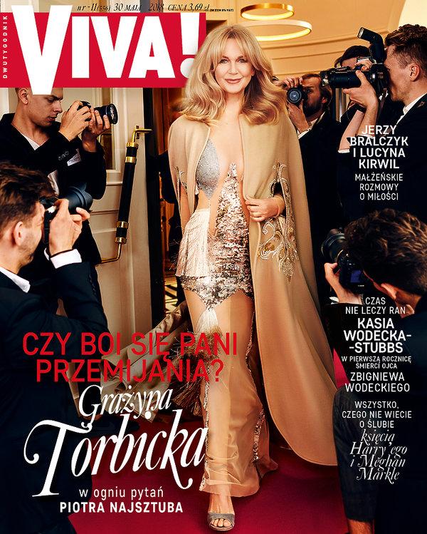 Grażyna Torbicka, VIVA! maj 2018, okładka