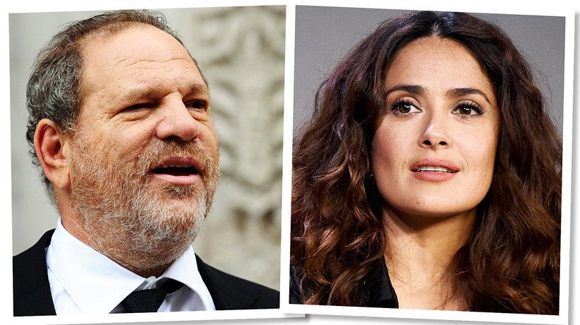 Harvey Weinstein, Salma Hayek, main topic