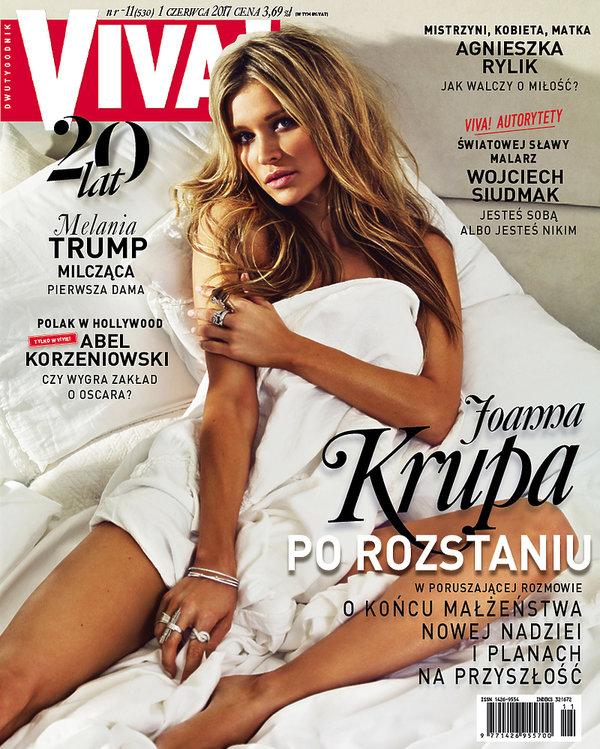 Joanna Krupa, VIVA! czerwiec 2017, okładka