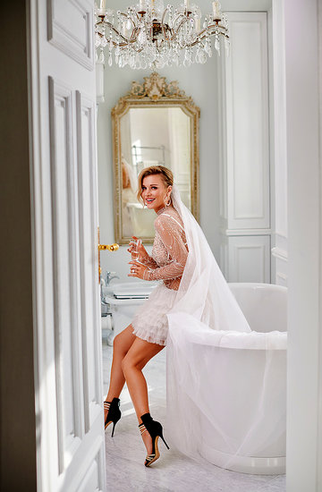 Joanna Krupa, VIVA! kwiecień 2018