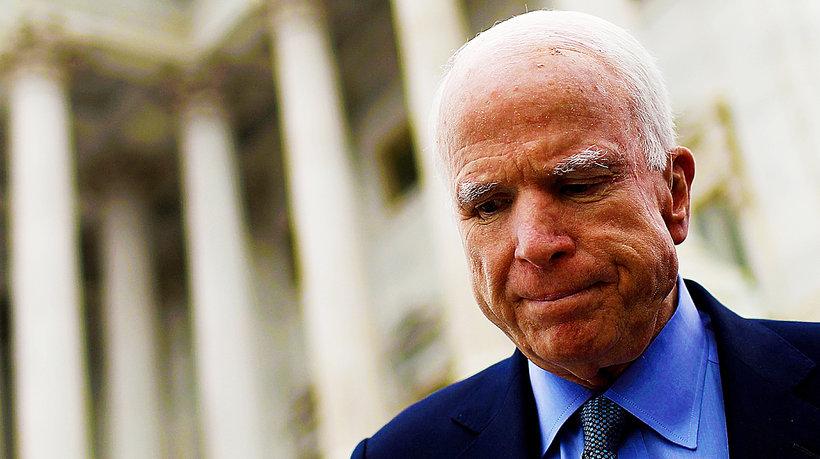 John McCain, main topic