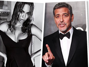 Kim Kardashian, Colin Farrell, Beyoncé, George Clooney, jamnik