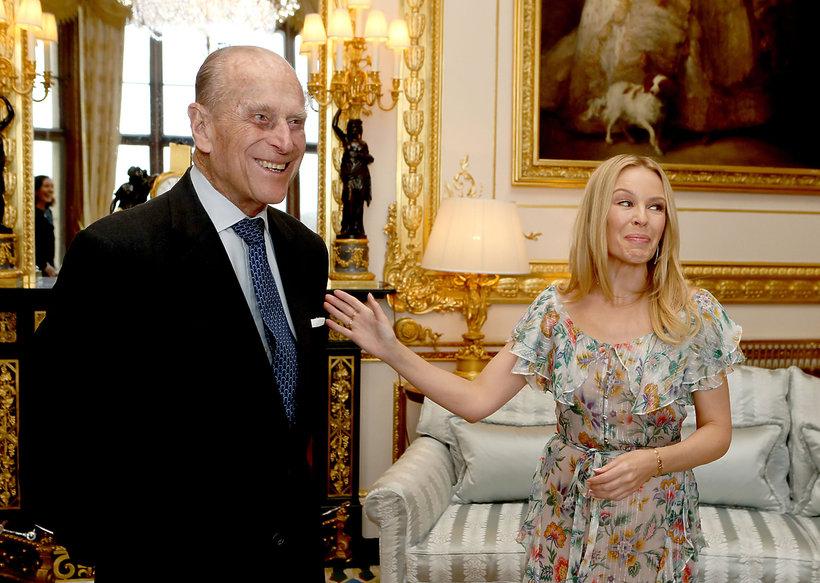 książę Filip, Kylie Minogue