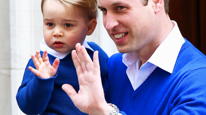książę George, książę George idzie do szkoły, książe William, main topic