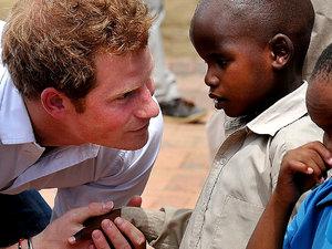 Książę Harry, Afryka