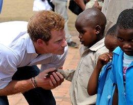 książę Harry, Afryka, viva.pl