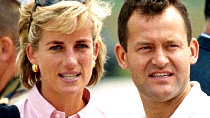księżna Diana, Paul Burrell, kamerdyner księżnej Diany, main topic