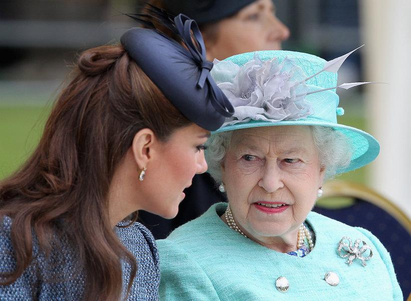 księżna Kate, Kate Middleton, Elżbieta II, królowa Elżbieta II