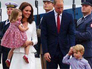 księżna Kate, książę William, brytyjska rodzina królewska w Polsce