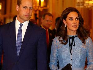 księżna Kate, książę William, jamnik