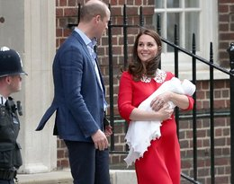 księżna Kate, książę William, trzecie dziecko