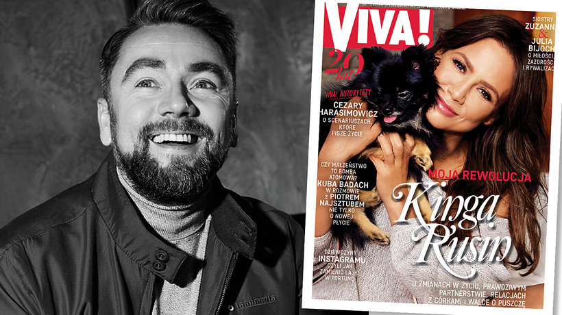 Kuba Badach, VIVA! październik 2017, main topic