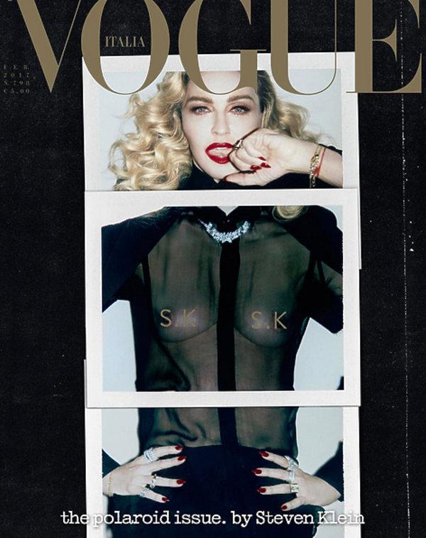 """Madonna, włoski """"Vogue''"""