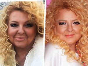Magda Gessler, Magda Gessler bez makijażu, Magda Gessler makijaże, makijaże gwiazd