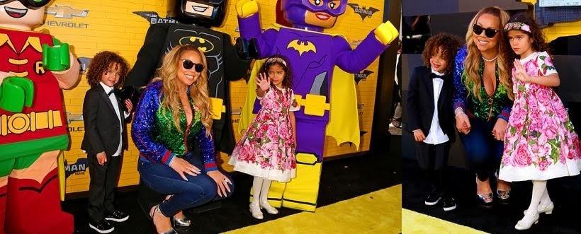 Mariah Carey z dziećmi