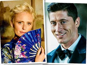 Martyna Wojciechowska, Grażyna Torbicka, Kinga Preis, Robert Lewandowsk, ranking Forbes, jamnik