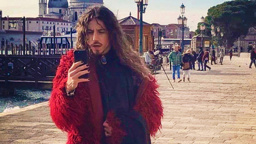 "Michał Szpak, garderoba, ""The Voice of Poland'', main topic"