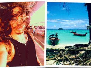 Michał Szpak, wakacje, wakacje w Tajlandii