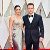 Oscary 2017,  Luciana Barroso, Matt Damon