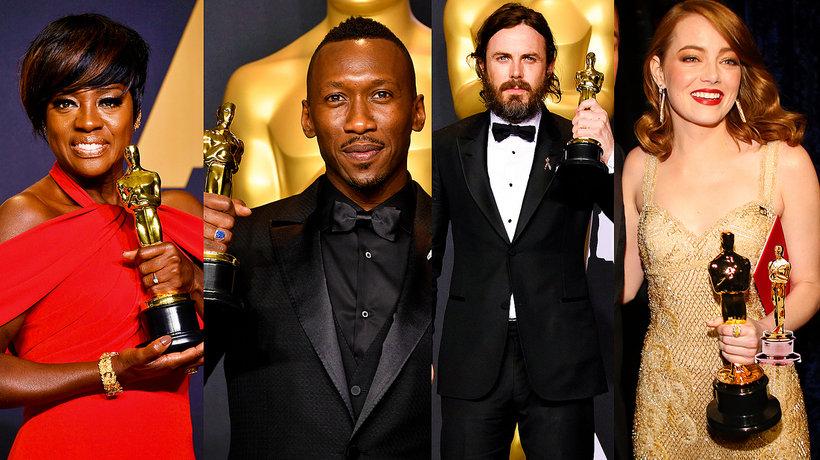 Oscary 2017, nagrodzeni