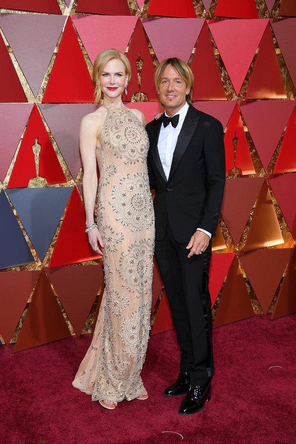Oscary 2017, Nicole Kidman,  Keith Urban