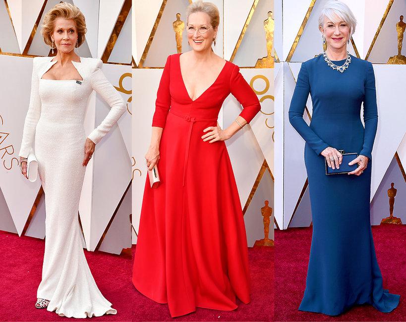 Oscary 2018, starsze aktorki
