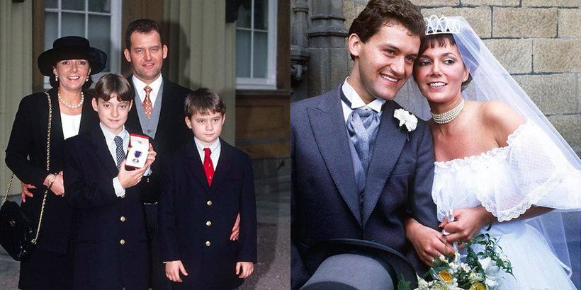 Paul Burrell, kamerdyner księżnej Diany, Paul Burrell z rodziną