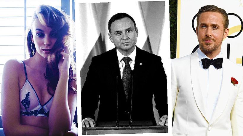 Paulina Krupińska, Andrzej Duda, Ryan Gosling, Anna Lewandowska