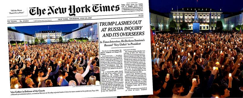 "Polska na okładce ""The New York Times''"