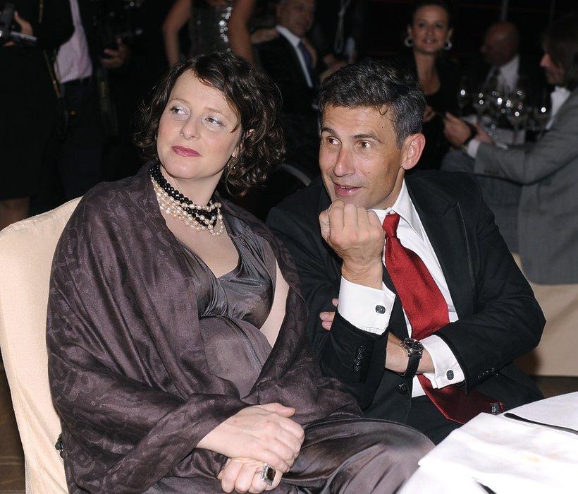 Robert Korzeniowski, Robert Korzeniowski z żoną